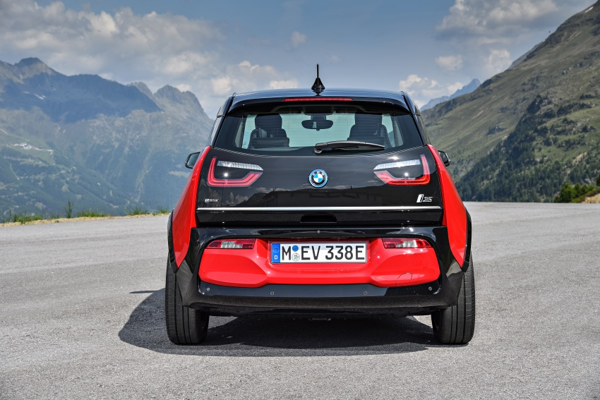 BMW i3 facelift unveiled with sportier 184 hp i3s model Image #704731