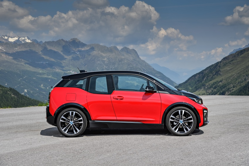 BMW i3 facelift unveiled with sportier 184 hp i3s model Image #704734