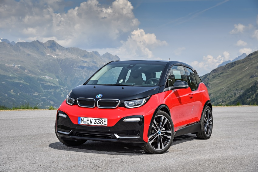 BMW i3 facelift unveiled with sportier 184 hp i3s model Image #704735