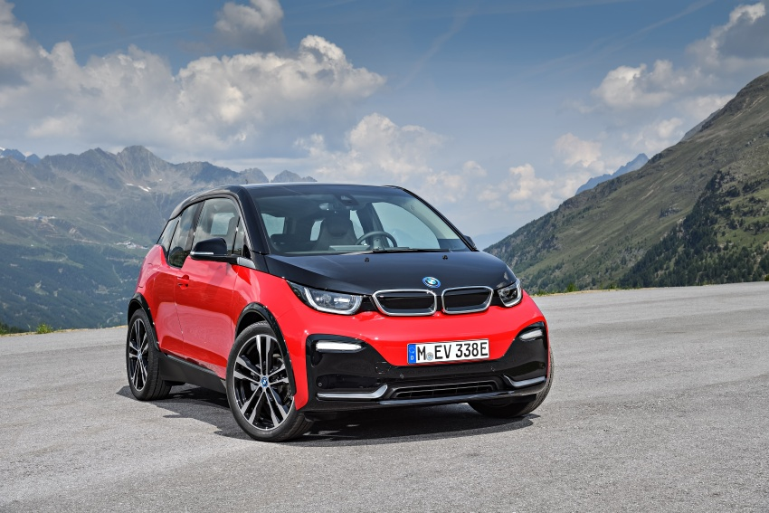 BMW i3 facelift unveiled with sportier 184 hp i3s model Image #704736