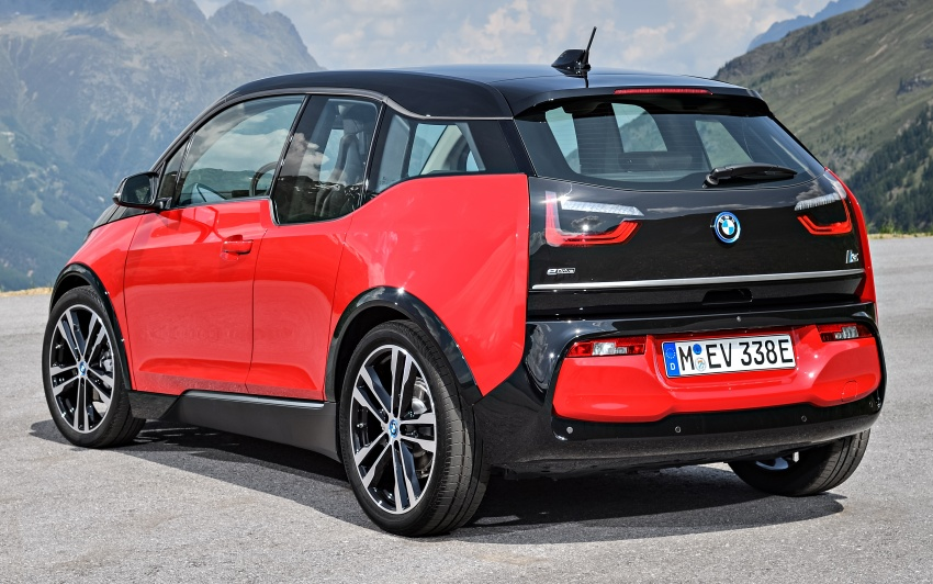BMW i3 facelift unveiled with sportier 184 hp i3s model Image #704737