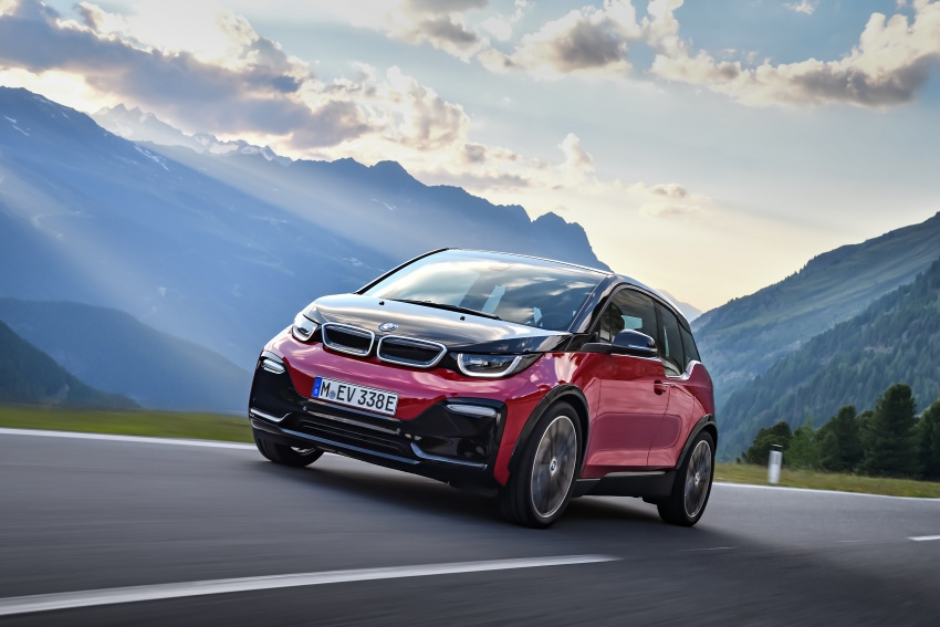 BMW i3 facelift unveiled with sportier 184 hp i3s model Image #704740