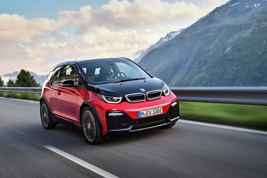 BMW i3 facelift unveiled with sportier 184 hp i3s model Image #704741