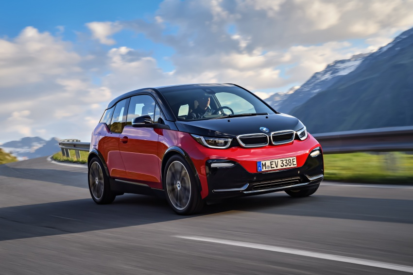 BMW i3 facelift unveiled with sportier 184 hp i3s model Image #704742