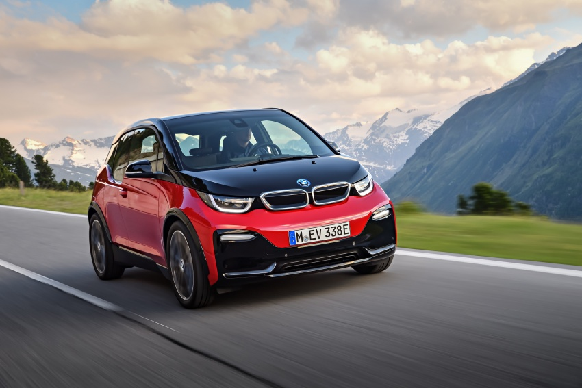 BMW i3 facelift unveiled with sportier 184 hp i3s model Image #704743