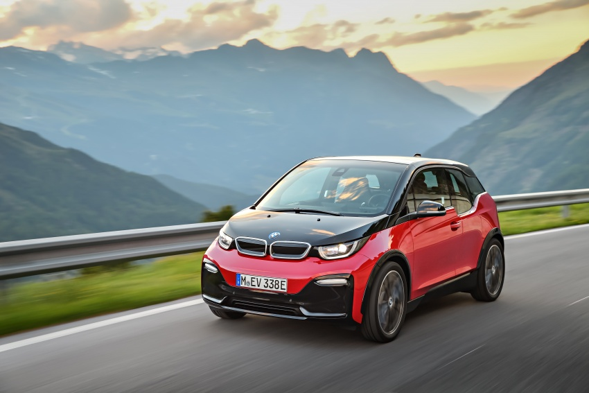 BMW i3 facelift unveiled with sportier 184 hp i3s model Image #704746
