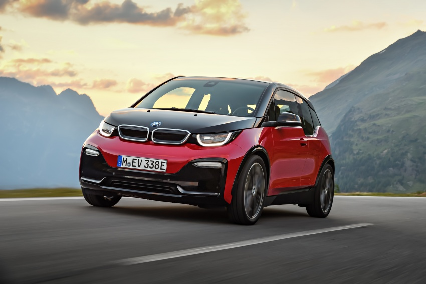 BMW i3 facelift unveiled with sportier 184 hp i3s model Image #704747