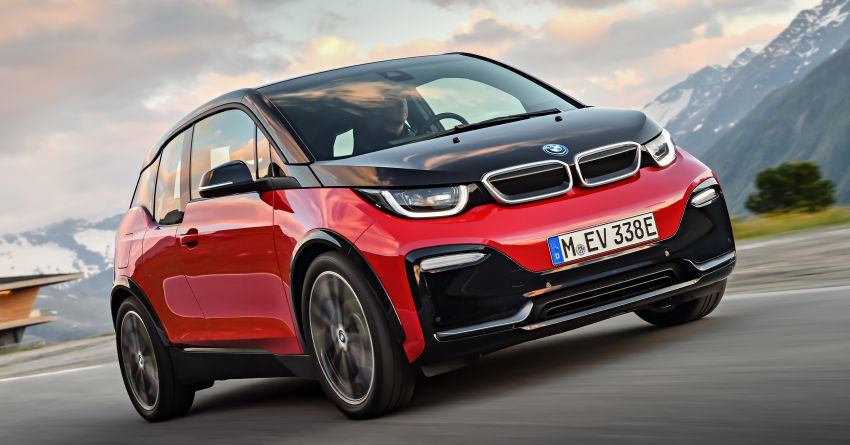 BMW i3 facelift unveiled with sportier 184 hp i3s model Image #704748