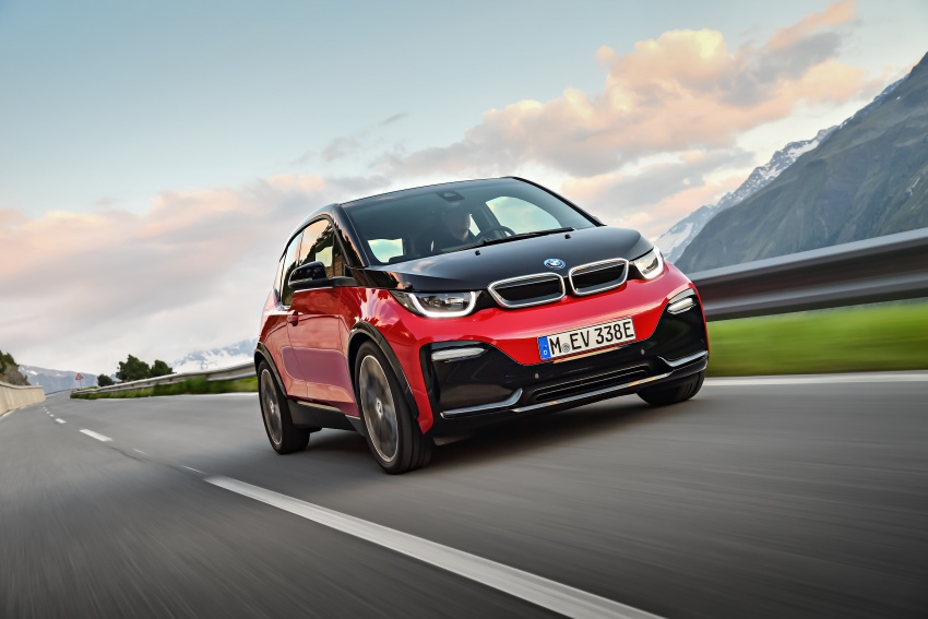 BMW i3 facelift unveiled with sportier 184 hp i3s model Image #704749