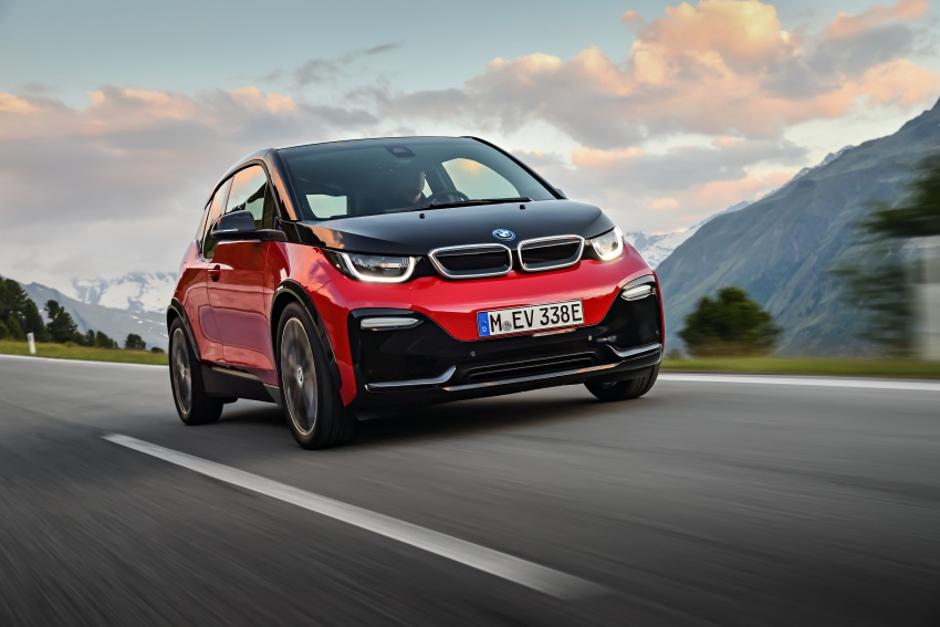 BMW i3 facelift unveiled with sportier 184 hp i3s model Image #704750