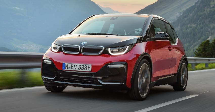 BMW i3 facelift unveiled with sportier 184 hp i3s model Image #704751