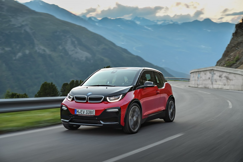 BMW i3 facelift unveiled with sportier 184 hp i3s model Image #704752