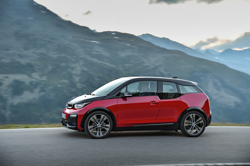 BMW i3 facelift unveiled with sportier 184 hp i3s model Image #704753