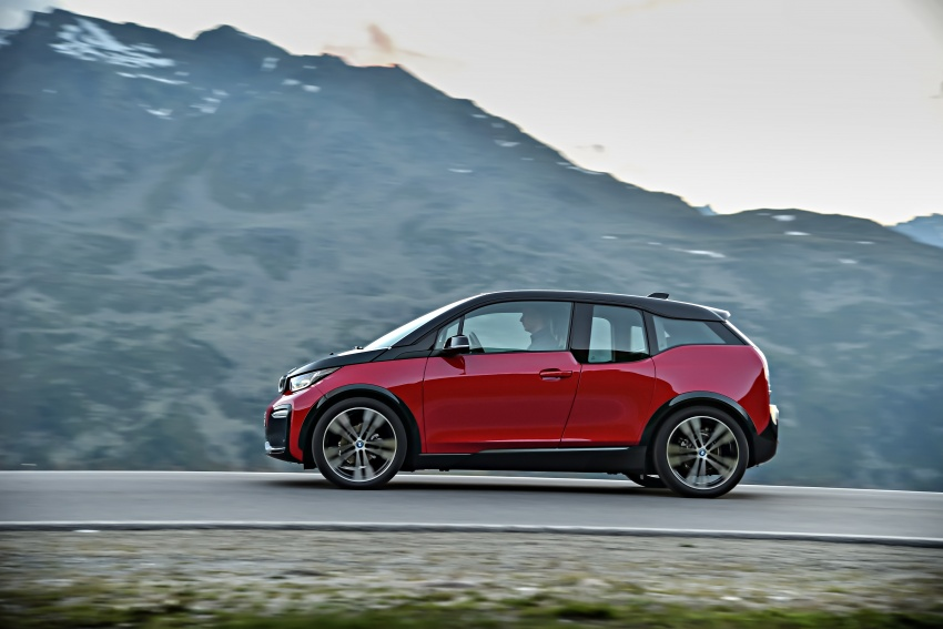 BMW i3 facelift unveiled with sportier 184 hp i3s model Image #704754