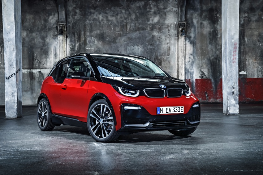BMW i3 facelift unveiled with sportier 184 hp i3s model Image #704764