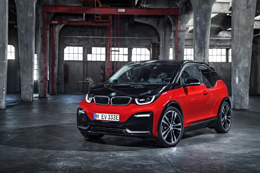 BMW i3 facelift unveiled with sportier 184 hp i3s model Image #704765