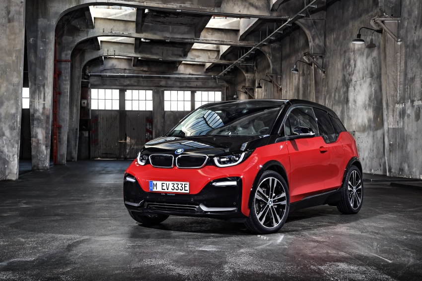 BMW i3 facelift unveiled with sportier 184 hp i3s model Image #704766