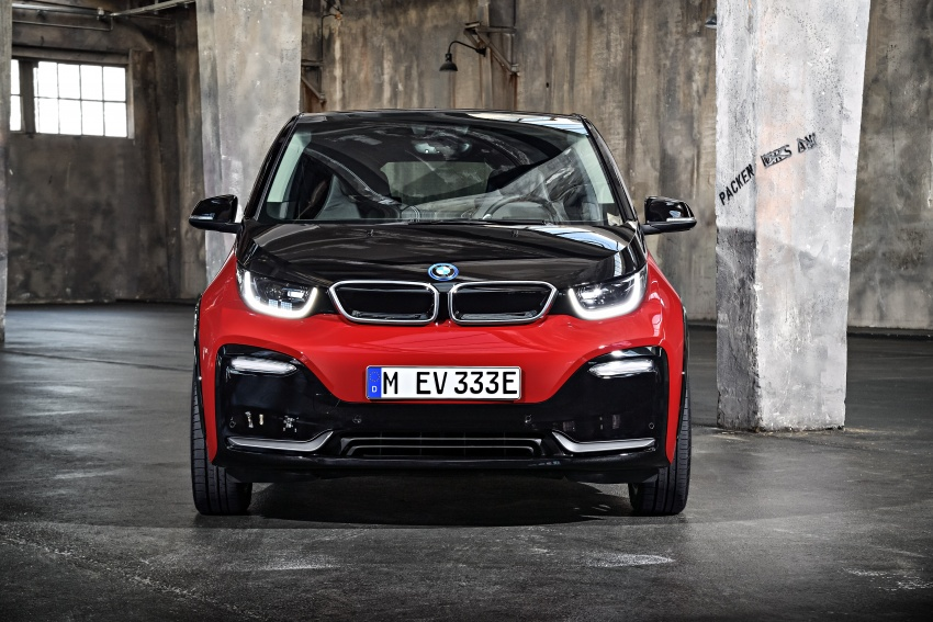 BMW i3 facelift unveiled with sportier 184 hp i3s model Image #704767