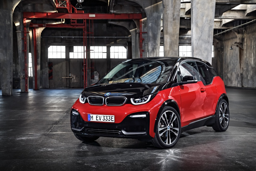 BMW i3 facelift unveiled with sportier 184 hp i3s model Image #704768