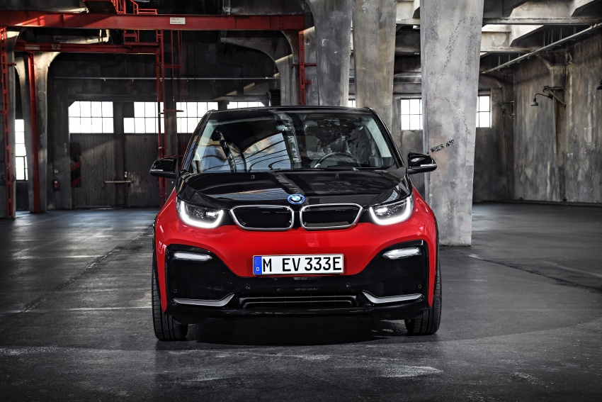 BMW i3 facelift unveiled with sportier 184 hp i3s model Image #704769