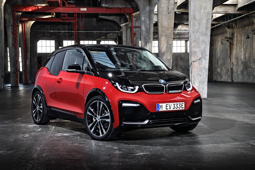 BMW i3 facelift unveiled with sportier 184 hp i3s model Image #704770