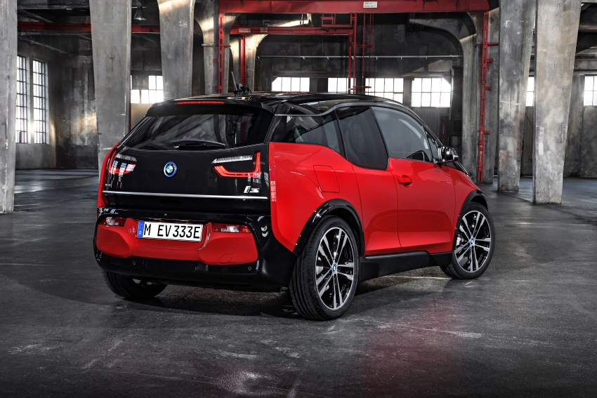 BMW i3 facelift unveiled with sportier 184 hp i3s model Image #704771