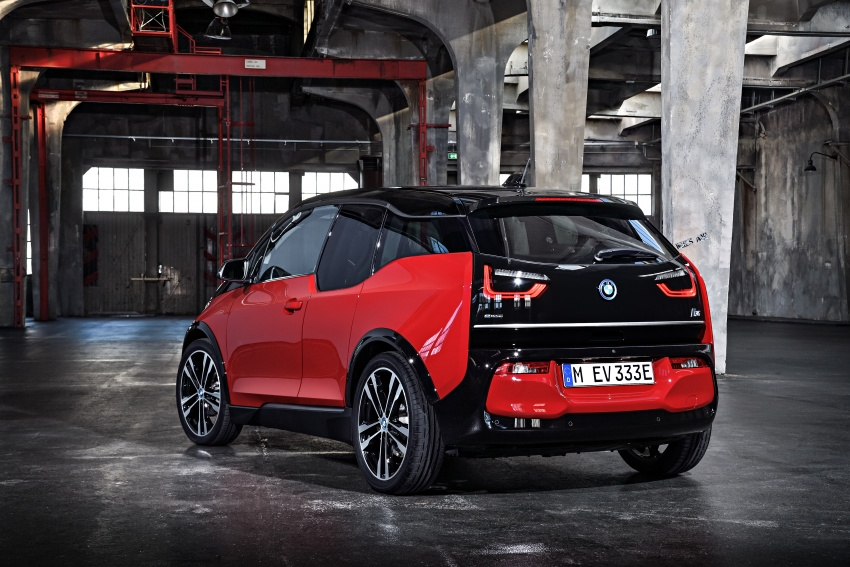 BMW i3 facelift unveiled with sportier 184 hp i3s model Image #704772