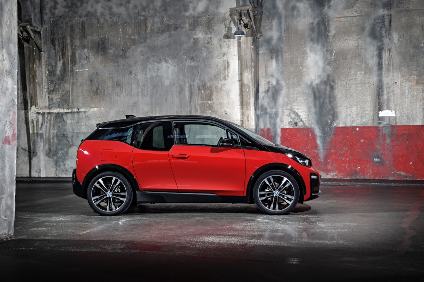BMW i3 facelift unveiled with sportier 184 hp i3s model Image #704774