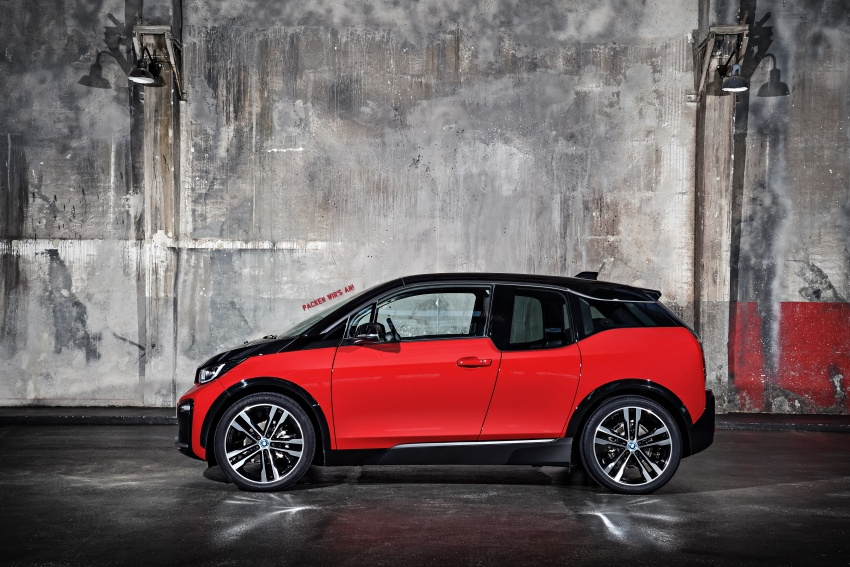 BMW i3 facelift unveiled with sportier 184 hp i3s model Image #704780
