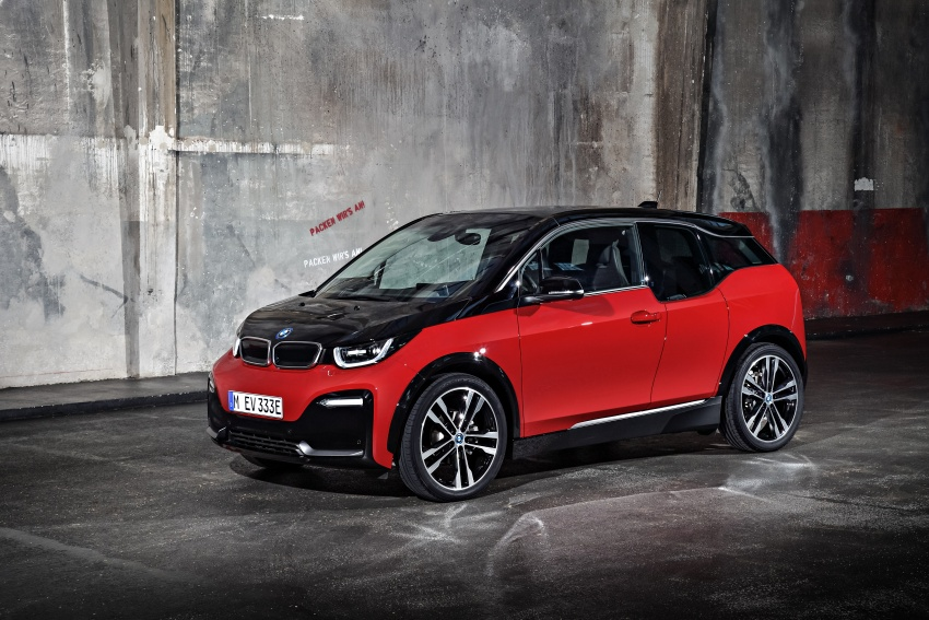 BMW i3 facelift unveiled with sportier 184 hp i3s model Image #704781