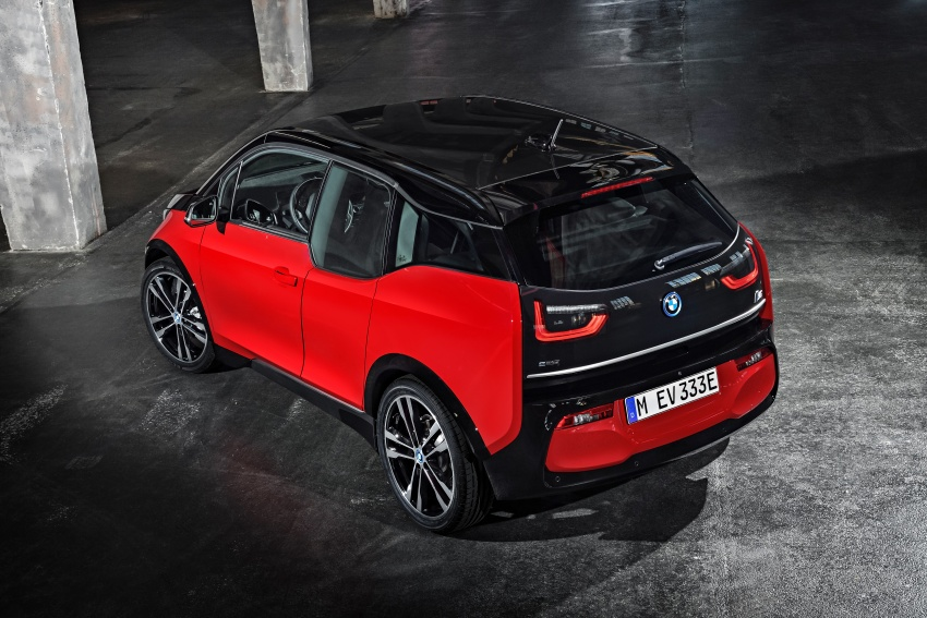 BMW i3 facelift unveiled with sportier 184 hp i3s model Image #704783