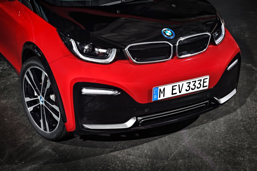 BMW i3 facelift unveiled with sportier 184 hp i3s model Image #704784