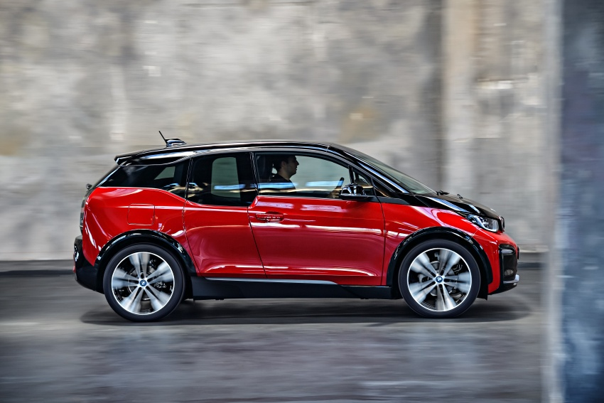 BMW i3 facelift unveiled with sportier 184 hp i3s model Image #704789