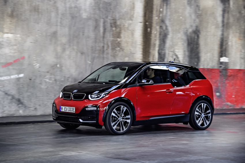 BMW i3 facelift unveiled with sportier 184 hp i3s model Image #704792