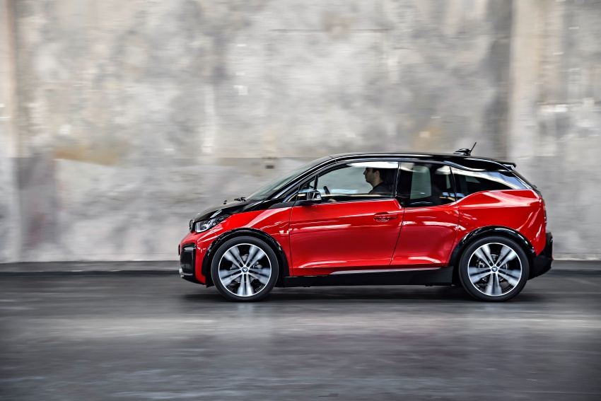 BMW i3 facelift unveiled with sportier 184 hp i3s model Image #704793