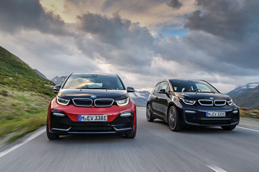 BMW i3 facelift unveiled with sportier 184 hp i3s model Image #704794