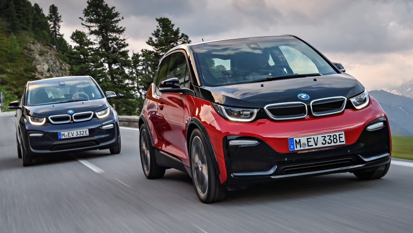 BMW i3 facelift unveiled with sportier 184 hp i3s model Image #704796