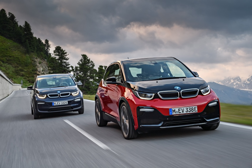 BMW i3 facelift unveiled with sportier 184 hp i3s model Image #704797