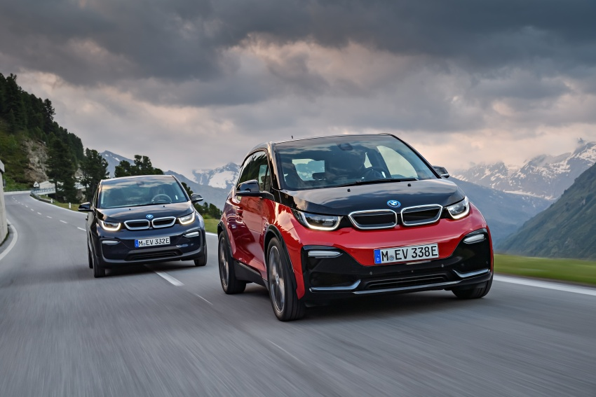 BMW i3 facelift unveiled with sportier 184 hp i3s model Image #704798