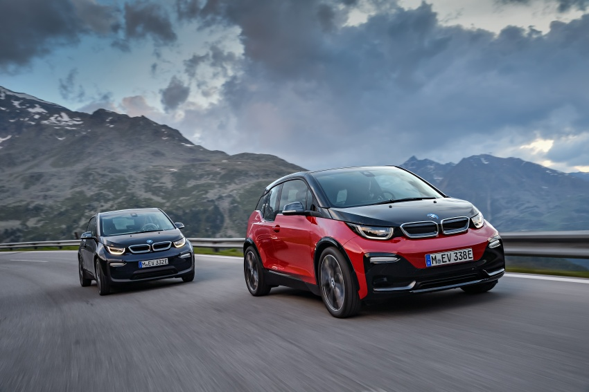 BMW i3 facelift unveiled with sportier 184 hp i3s model Image #704800