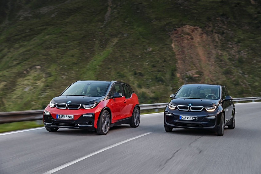 BMW i3 facelift unveiled with sportier 184 hp i3s model Image #704801