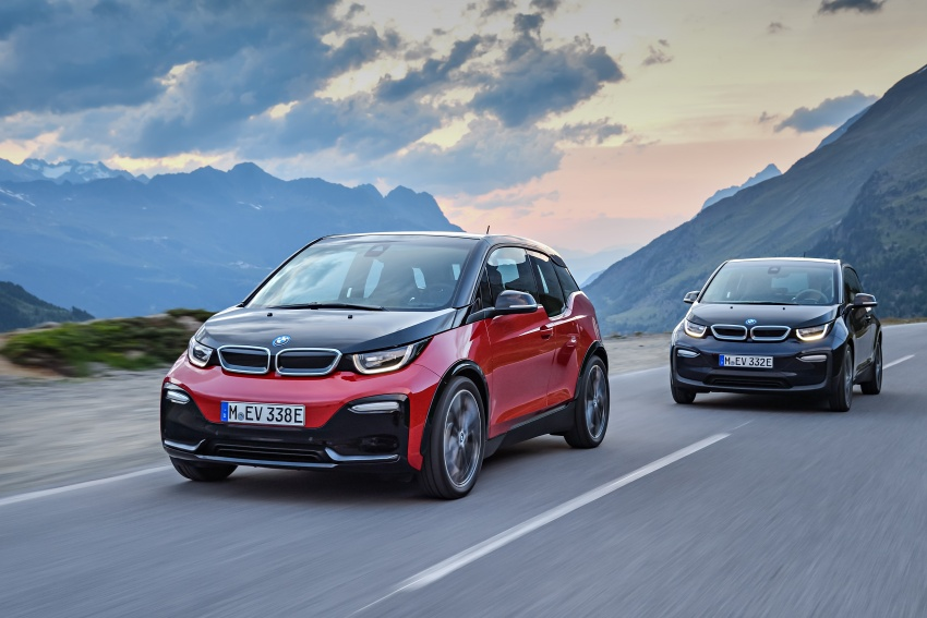 BMW i3 facelift unveiled with sportier 184 hp i3s model Image #704802