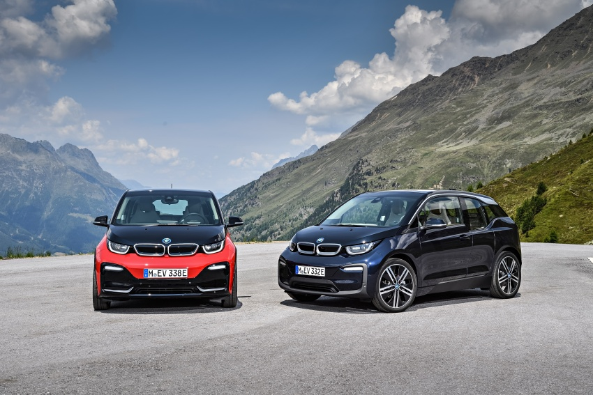 BMW i3 facelift unveiled with sportier 184 hp i3s model Image #704804