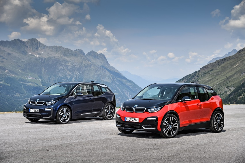 BMW i3 facelift unveiled with sportier 184 hp i3s model Image #704805