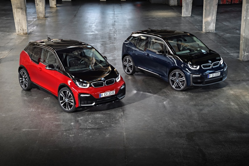BMW i3 facelift unveiled with sportier 184 hp i3s model Image #704807
