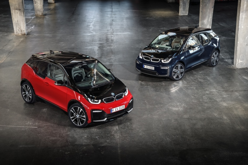 BMW i3 facelift unveiled with sportier 184 hp i3s model Image #704808