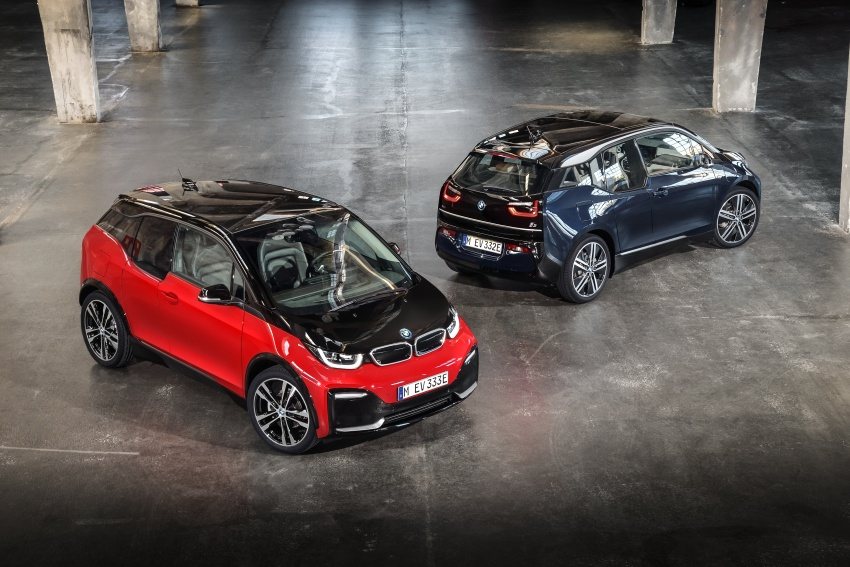 BMW i3 facelift unveiled with sportier 184 hp i3s model Image #704809