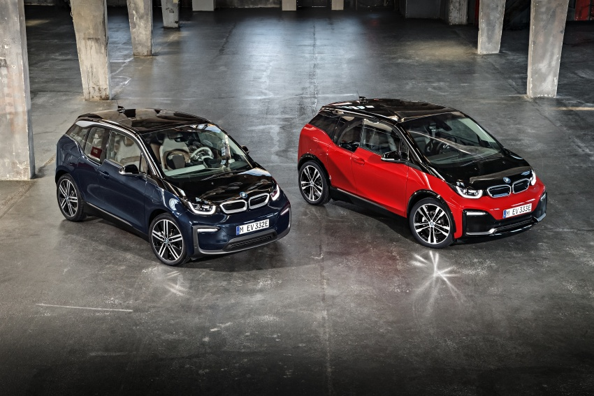 BMW i3 facelift unveiled with sportier 184 hp i3s model Image #704810