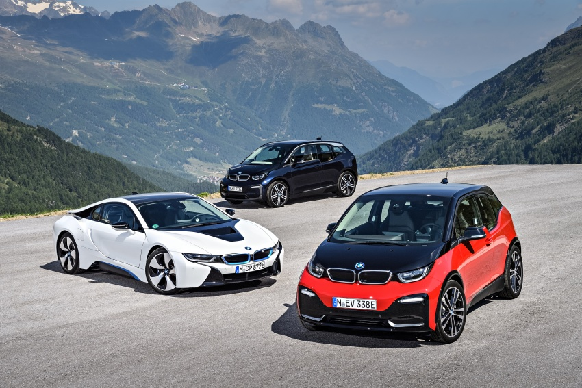 BMW i3 facelift unveiled with sportier 184 hp i3s model Image #704811