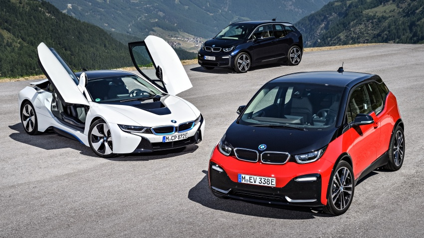 BMW i3 facelift unveiled with sportier 184 hp i3s model Image #704812